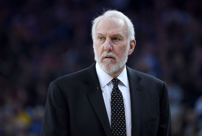 This is a picture of Gregg Popovich.