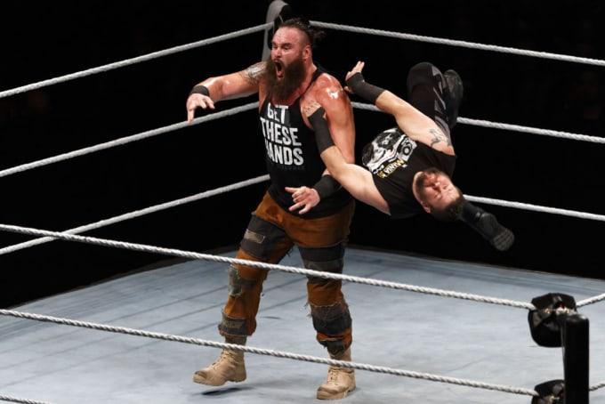 Braun Strowman WWE Paris 2018
