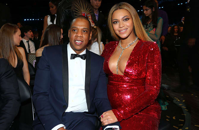 No official word, but reports swirl that Beyonce's twins are here