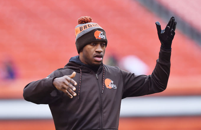 Former Browns quarterback Robert Griffin III.