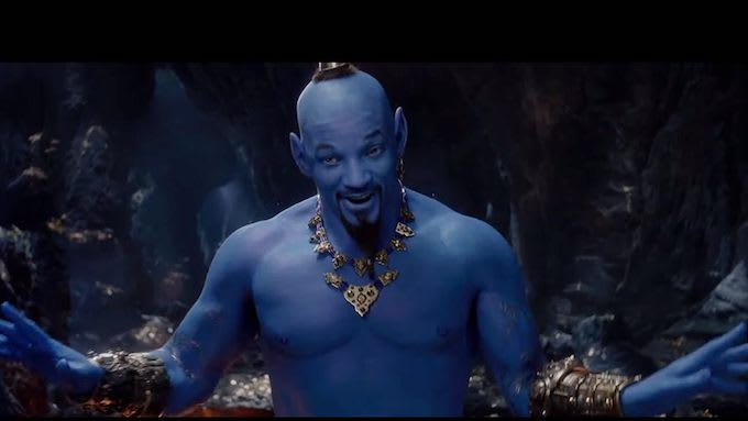 32294c6fa0e People Will Struggle to Forget the Nightmare-Inducing Sight of Will Smith  as Genie From  Aladdin  Trailer