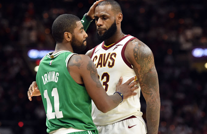 3c469c49c63 Kyrie Irving Says He Feels  Very Empathetic  Towards LeBron James ...