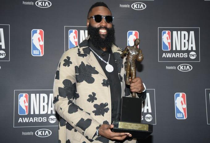James Harden MVP NBA Awards 2018 Santa Monica