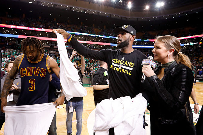 lebron james ecf