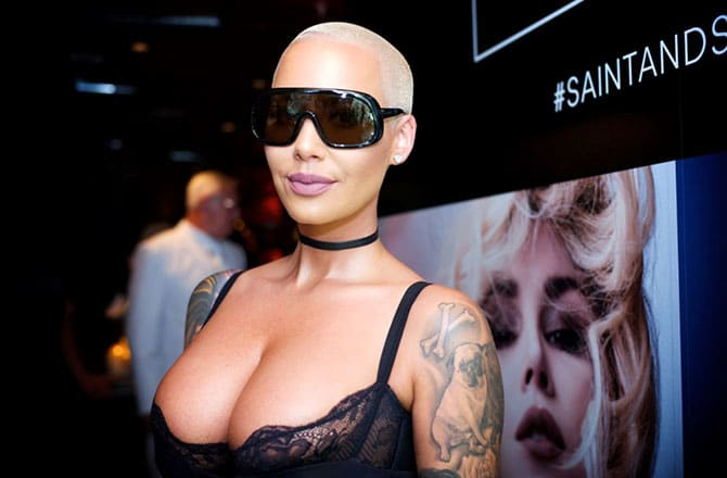 This is a photo of Amber Rose.
