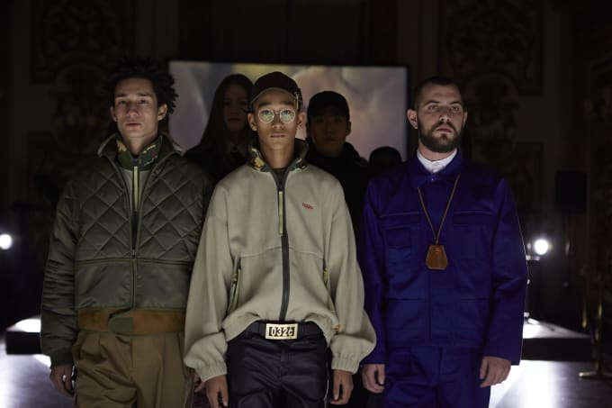 032c debut runway show at Pitti Uomo