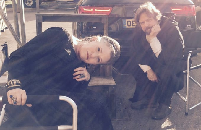 Carrie Fisher & Mark Hamill