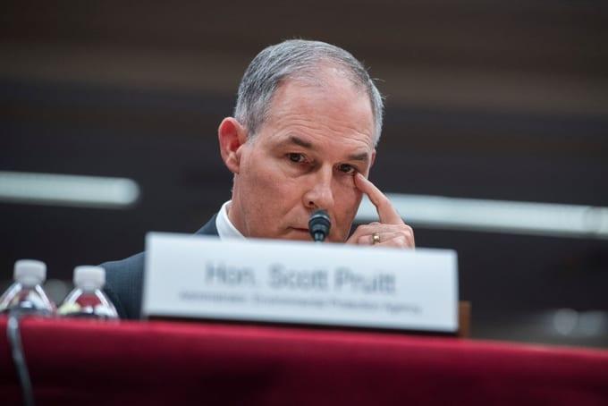 Scott Pruitt testifies