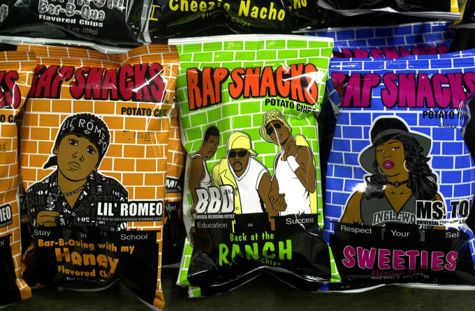 This is a photo of Rap Snacks.
