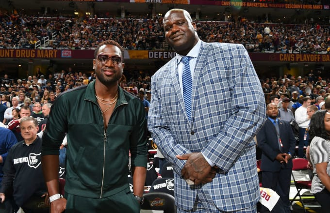 Dwyane Wades Outfit At Game 4 Of The Nba Finals Inspired A