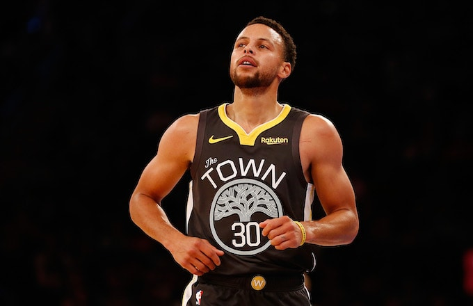Stephen Curry #30 of the Golden State Warriors.