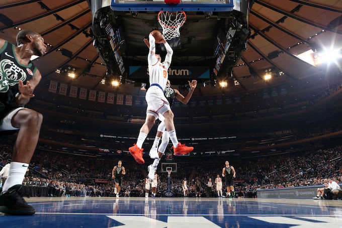 This is a picture of New York Knicks.