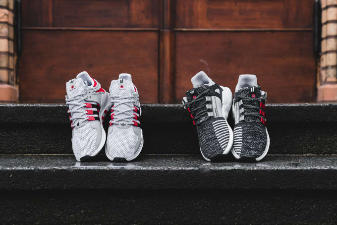 The adidas EQT Support RF Primeknit In Pink KicksOnFire
