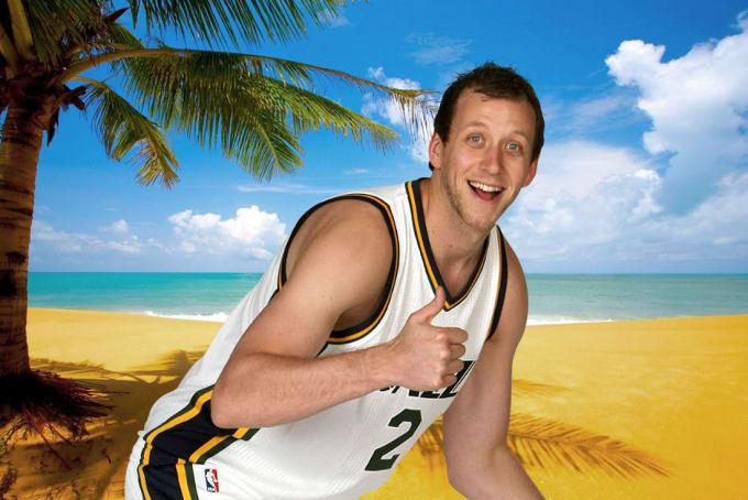 Joe Ingles on Summer Vacation