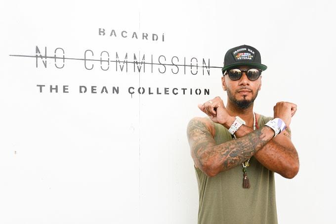 Swizz Beatz at No Commission Bronx, NY