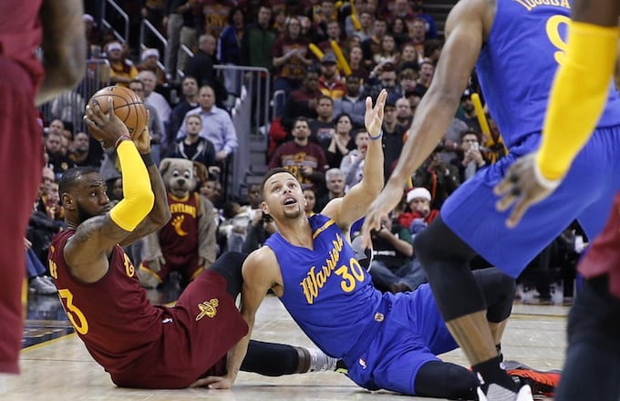 d048a0bf4574 Cavs  Halloween Party Reportedly Had Steph Curry Dummy That Guests Needed  to Step Over