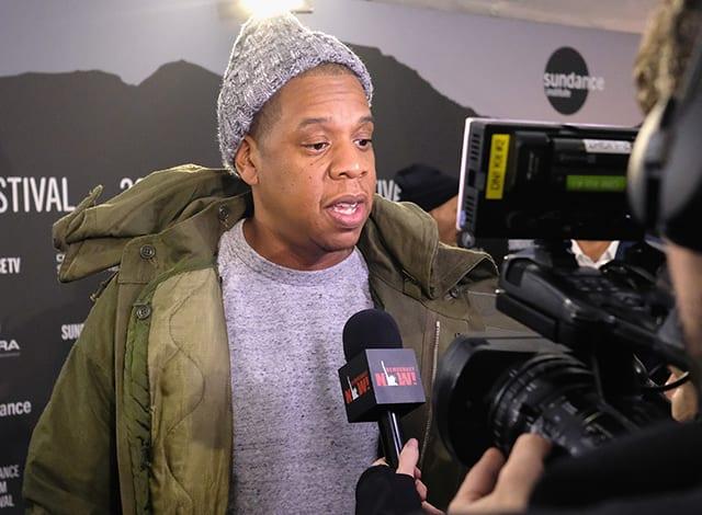 Jay Z at 2017 Sundance Film Festival