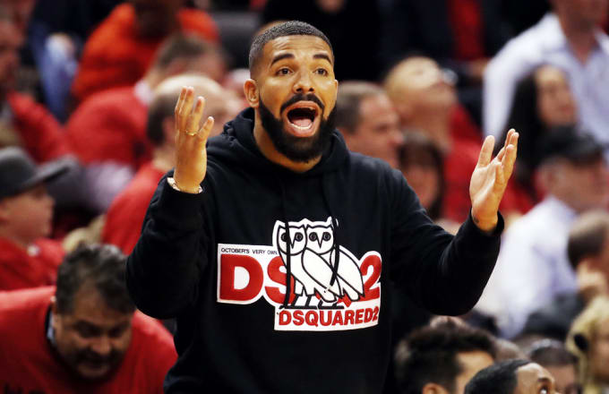 0b01ebc7e drake-courtside-gregory-shamus. Image via Getty Gregory Shamus. Since  becoming the Toronto Raptors  official global ambassador ...