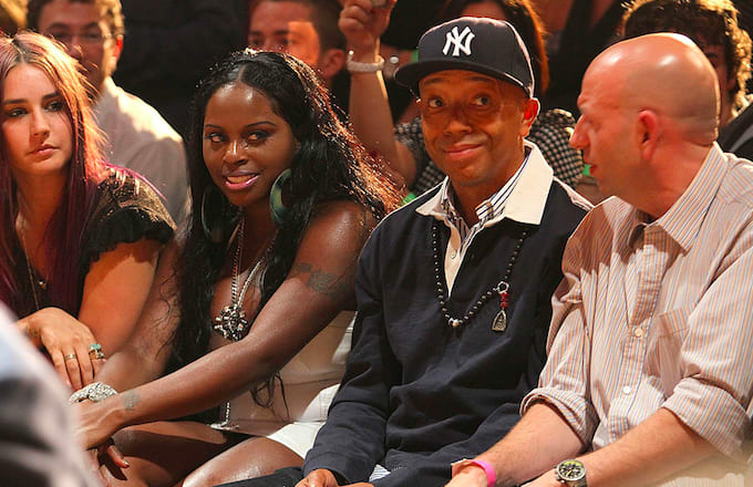 Russell Simmons and Foxy Brown