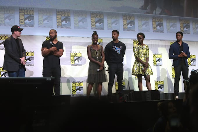 black panther comic con