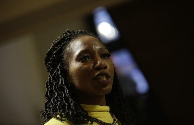 Chicago mayoral candidate Amara Enyia.