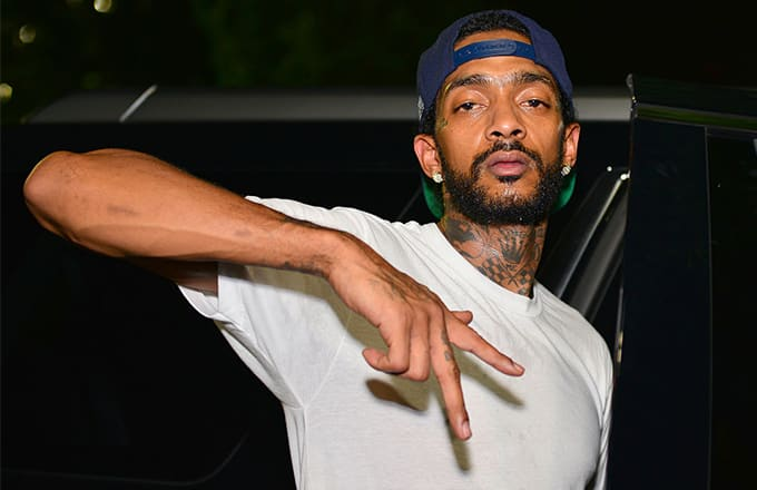 This is a photo of Nipsey Hussle.