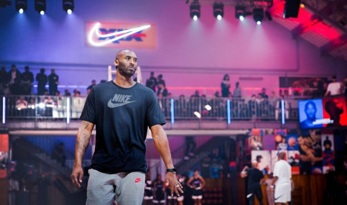 Kobe Bryant Paris 1 Oct 2017