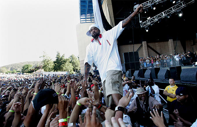 This is a photo of Method Man.