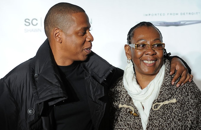 Jay Z and mother