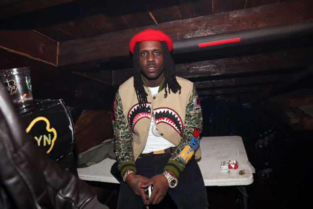 Chief Keef at concert in New York City