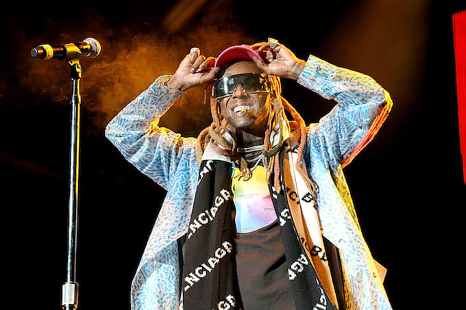 Lil Wayne in Houston