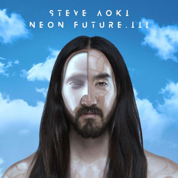 Steve Aoki cover art for 'Neon Future III'