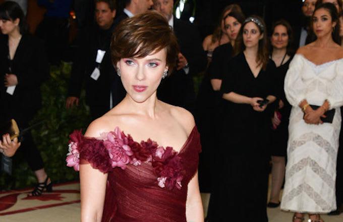 Scarlett Johansson trans character