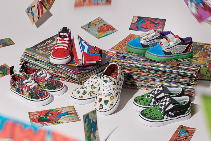 c38915ac853b8b Vans and Marvel Team up for a Huge Footwear and Apparel ...
