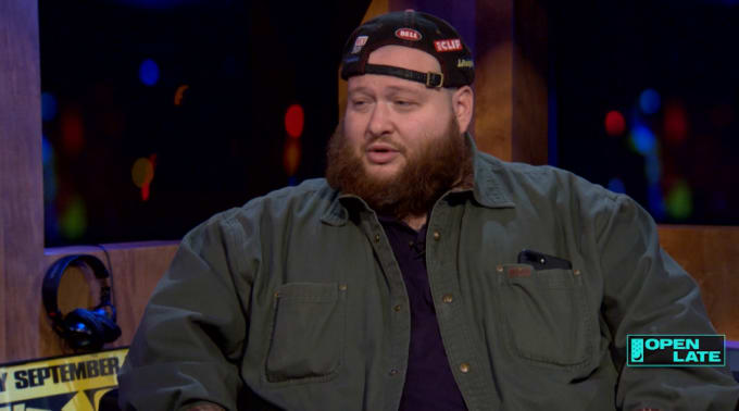 Action Bronson on Open Late