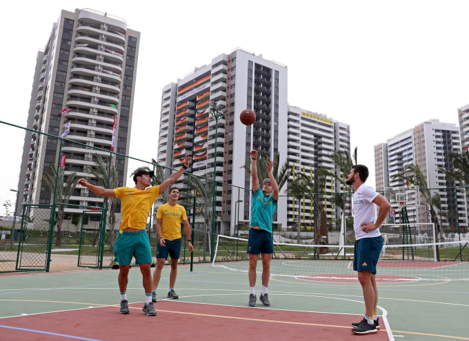 olympic village rio basketabll
