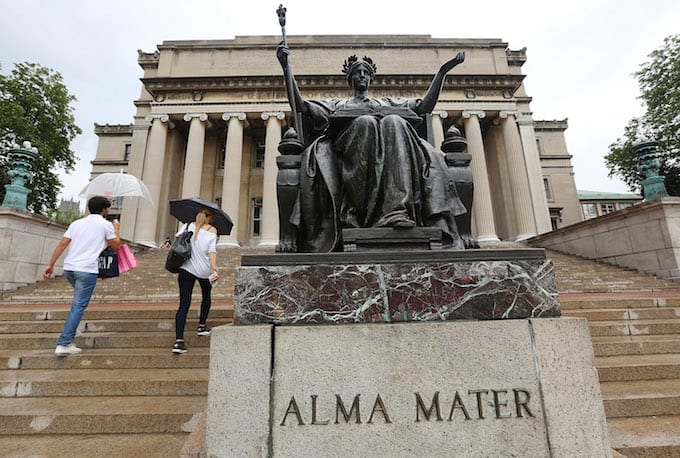 This is a picture of Columbia University.