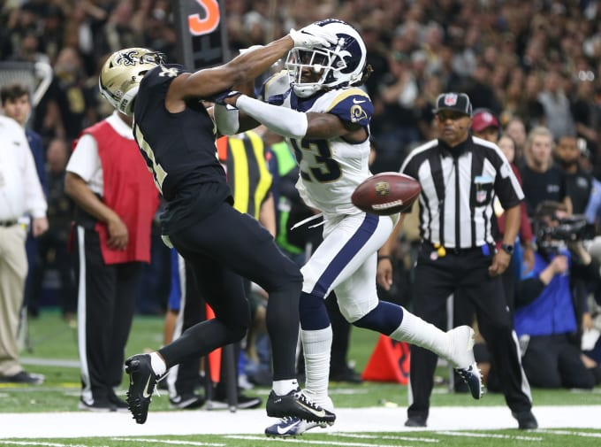 Nickell Robey-Coleman Tommylee Lewis NFC Championship Game 2019