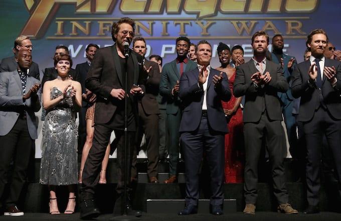 Avengers Infinity War Pre-Sales