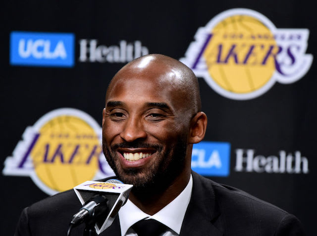 This is a picture of Kobe Bryant.