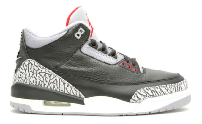 "Air Jordan III ""Black Cement"""