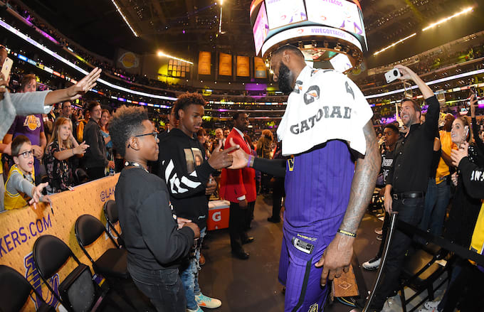 cdf697ad421 LeBron Hopes to Play 5-6 More Years to See LeBron Jr. in NBA