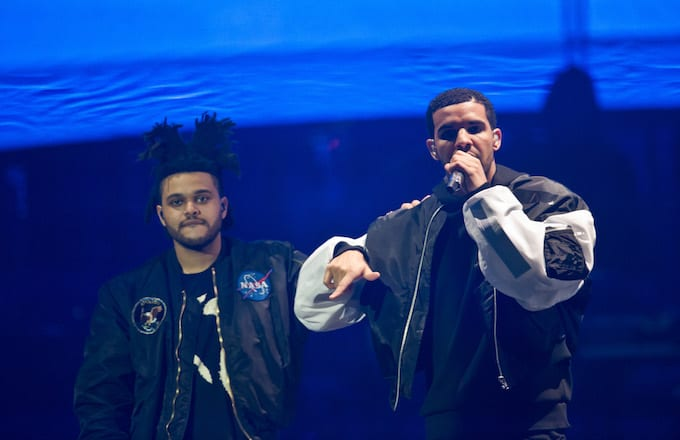 Weeknd and Drake