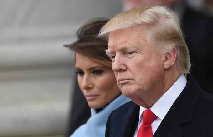 Donald Trump existing.