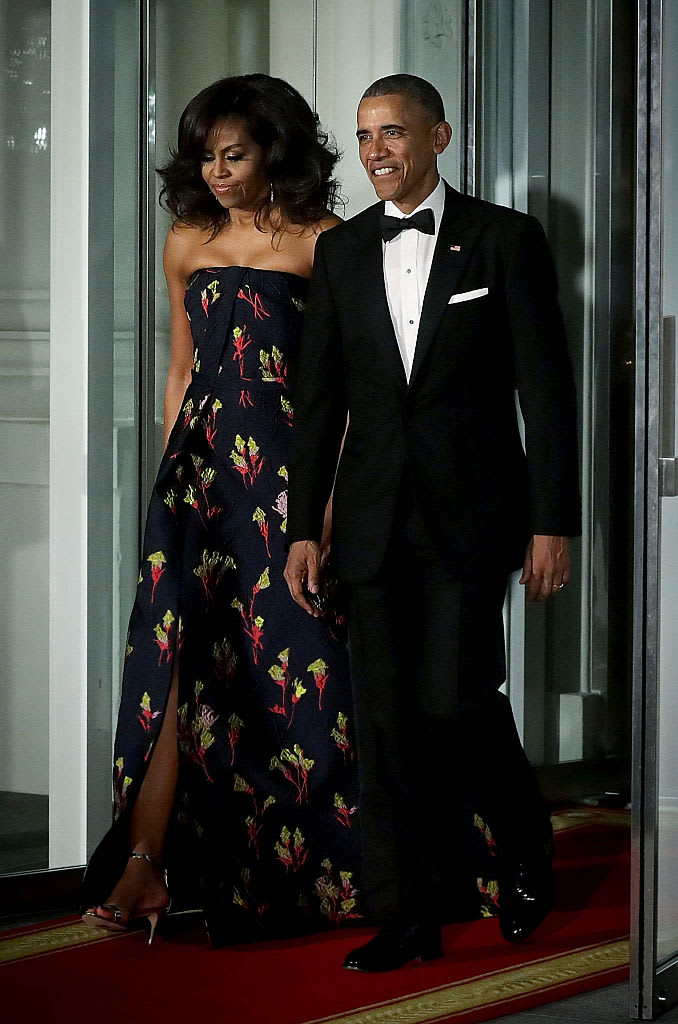 michelle and barack march 2016