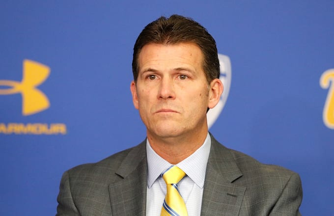 Head Coach Steve Alford of UCLA Men's Baskeball