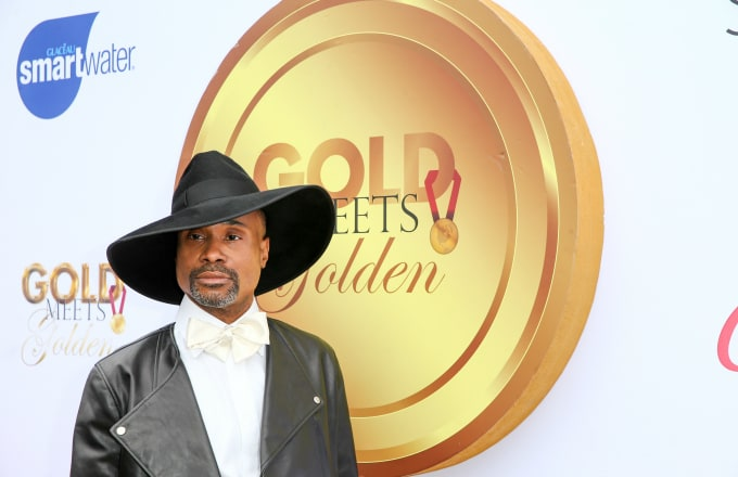 Billy Porter attends the 6th annual Gold Meets Golden party