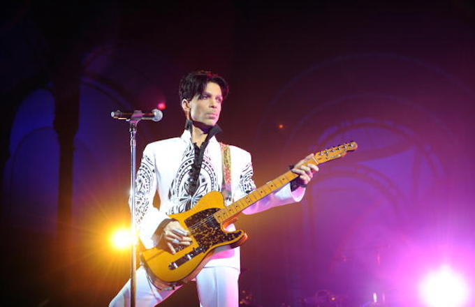 Prince In Paris 2009