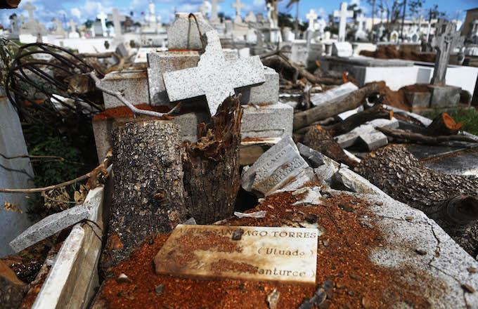 Puerto Rico Graveyard