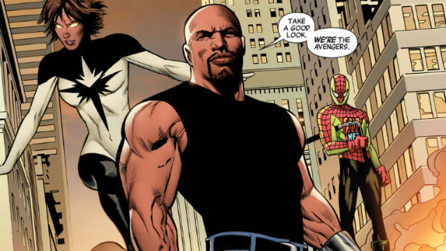 Image result for luke cage avengers